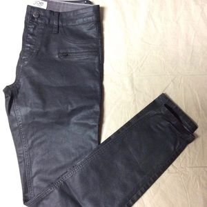 Vintage High Rise Leather Pants sz 10